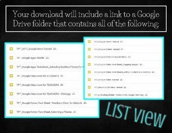 Google Apps Tutorials and Task Sheets BUNDLE - FREE LIFETIME UPDATES!!