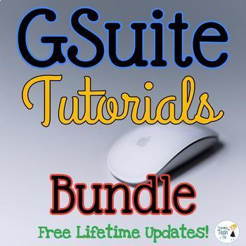 Google Apps Tutorials and Task Sheets BUNDLE - FREE LIFETI