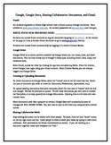 Google Apps for Education Quick Start Guide for Students