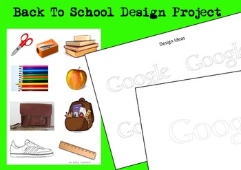 Google 'Back to School' Graphic Design Project