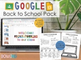 Google Back to School Pack - Welcome Slides and Google Classroom Infographic