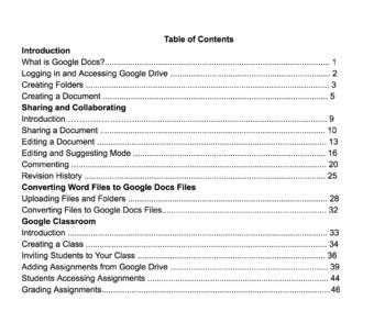 Google Basics - Google Drive & Google Classroom