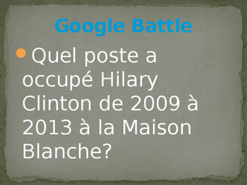 Google Battle