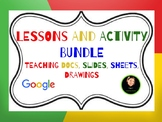 Google Bundle Lesson Plans {Compatible with Google Drive} GROWING