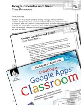 Google Calendar and Gmail-- Class Reminders