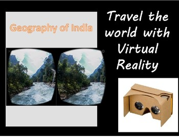 Virtual Reality with Google Cardboard - Exploring the Geography of India