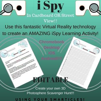 Google Cardboard - iSpy Classroom Conundrum