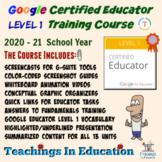 Google Certified Educator Exam Level 1 Training Course