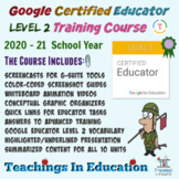Google Certified Educator Level 2 Training Course