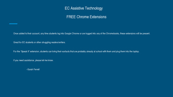 Google Chrome Extensions PowerPoint