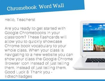 Google Chromebook Word Wall