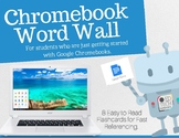 Google Chromebook Word Wall