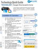 Google Chromecast & Home Quick Tech Guide