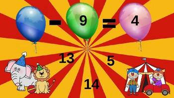 Google Classroom: 1 Digit Subtraction