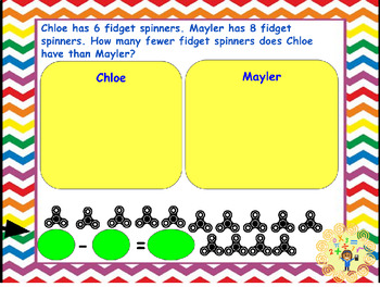 Google Classroom- 1 Digit Word Problems Bundle