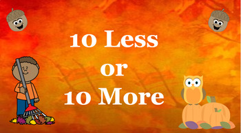 Google Classroom: 10 More 10 Less