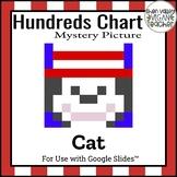 Digital Hundreds Chart Mystery Picture - Read Across Ameri