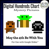 Digital Hundreds Chart Mystery Pictures - Pixel Art - May