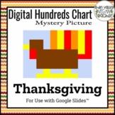 Digital Hundreds Chart Mystery Picture - Pixel Art - Turkey