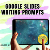 Google Classroom™ Writing Activities Prompts (Outerspace)