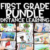 Google Classroom™ 1st grade GROWING BUNDLE | Distance Learning