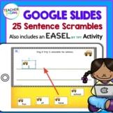 Google Classroom 25 Scrambled Sentences