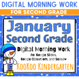 Google Classroom 2nd Grade January Morning Work