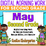 Google Classroom 2nd Grade May Morning Work