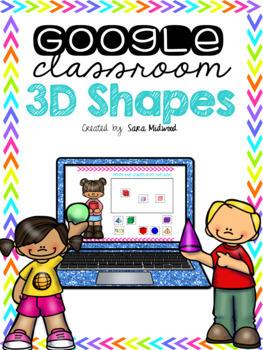 Google Classroom 3D Shapes