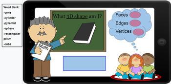 Google Classroom: 3D Shapes- Faces, Vertices, Edges