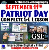 Google Classroom | 9/11 Patriot Day Lesson | September 11