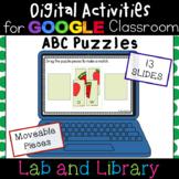 ABC Puzzles: Digital Activities for Google Classroom
