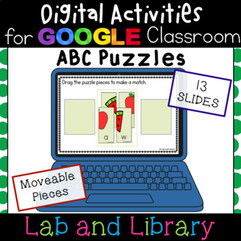ABC Puzzles: Digital Activities for Google Classroom