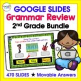 for Google Classroom ELA & GRAMMAR BUNDLE : 2nd GRADE (CCSS & New ELAR TEKS)