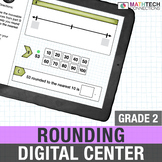Google Classroom Activities 2nd Rounding Numbers Digital M