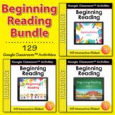 Google Classroom™ Activities: Beginning Reading Passages {Bundle}