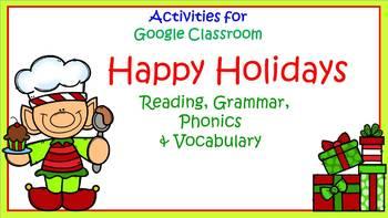 Google Classroom Activities: Happy Holidays