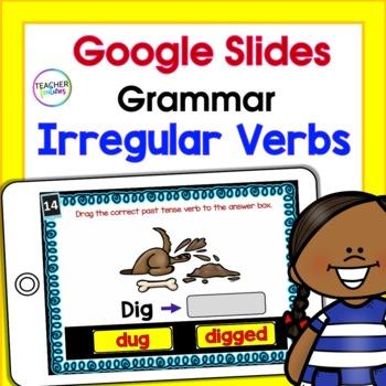 Google Classroom Activities PAST TENSE & IRREGULAR VERBS 2nd Grade