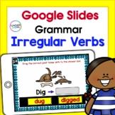 Google Classroom Activities for 2nd grade PAST TENSE & IRREGULAR VERBS