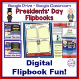 Google Classroom Activities PRESIDENTS' DAY George Washington & Abraham Lincoln