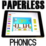 Google Classroom Activities Phonics Centers Kindergarten Word Families Games