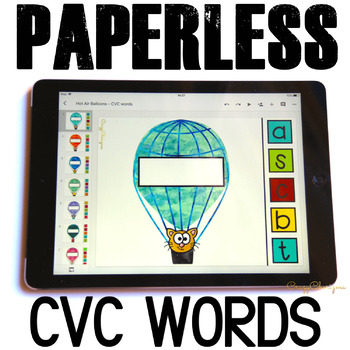 Google Classroom™ Activities for ELA | CVC words