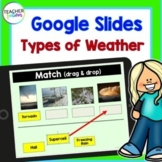 Google Classroom Activities SCIENCE Exploring Weather Types