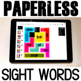 Google Classroom Activities Sight Word Games