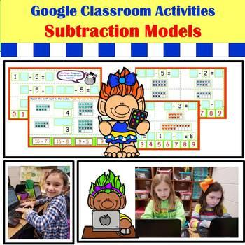 Google Classroom Activities: Subtraction Model