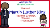 Google Classroom Activities: The Story of Martin Luther King Jr. Free