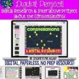 Google Classroom Activities about Constellations