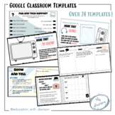 Google Classroom Activities and Templates | Distance Learning
