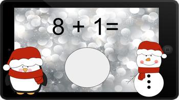 Google Classroom: Adding 1 - Winter Theme