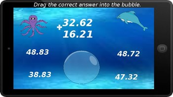 Google Classroom: Adding Decimals (4 Digit)- No Regrouping